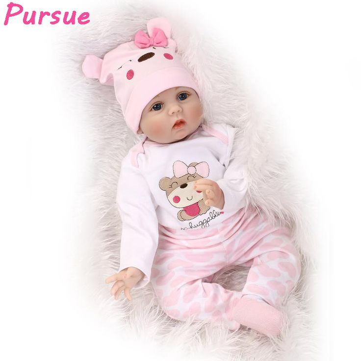Cheap doll toys, Buy Quality toys for girls directly from China baby reborn silicone Suppliers: Pursue Baby Reborn Silicon Girl Cloth Body Reborn Dolls Toys for Girls bebe reborn silicone realista bebes reborns bebe silicona