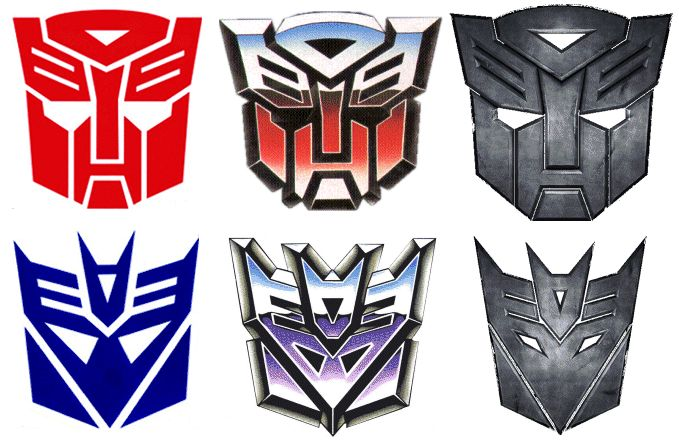 Cool : Transformers Logos