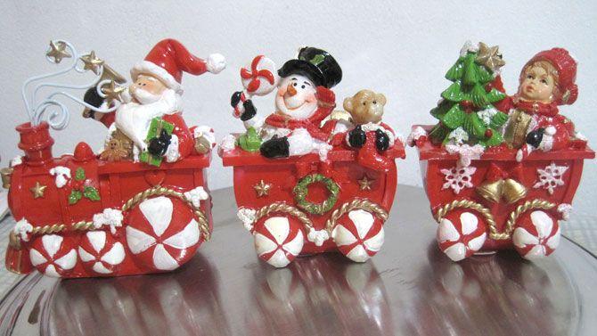 tren navideño en ceramica - Buscar con Google
