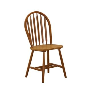 Shop for Chestnut Oak Windsor Back Chair (Set of 2). Get free shipping at Overstock.com - Your Online Furniture Outlet Store! Get 5% in rewards with Club O!