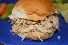 Minnesota state fair to Turkey To Go copy cat shredded turkey recipe.
