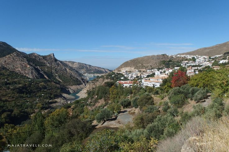 Guejar-Sierra village in Andalusia, Spain