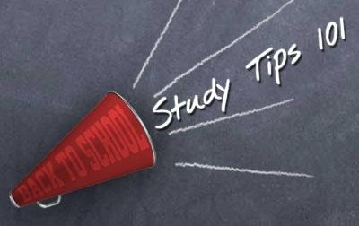 College study tips dorm-room-bound