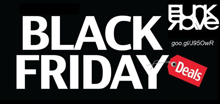 Take advantage of black Friday! Are you ready for the great shopping deal on this black Friday? Here you go for the best deals available at goo.gl/J95OwR