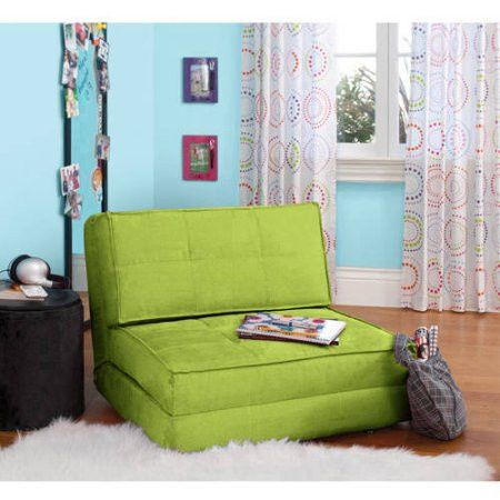 Kids,Teens, Convertible Flip Small Space Lounge Chair Bed Only 10 In Stock Order Today! Product Description: Whether your kids are studying, hanging out with friends or lounging around, this your zone