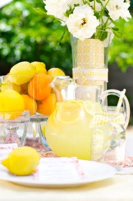 lemon luncheon party by @Mindy CREATIVE JUICE -- recipes, styling ideas, and a bright summery party!