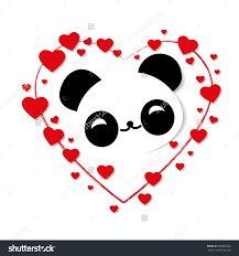 Resultado de imagen para pandas animados de amor