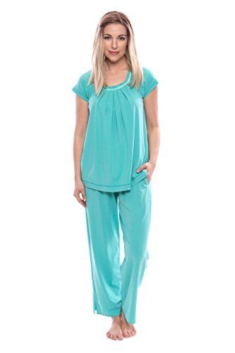 Texere Women s Pajamas in Bamboo Viscose (Bamboo Bliss 1d079666f