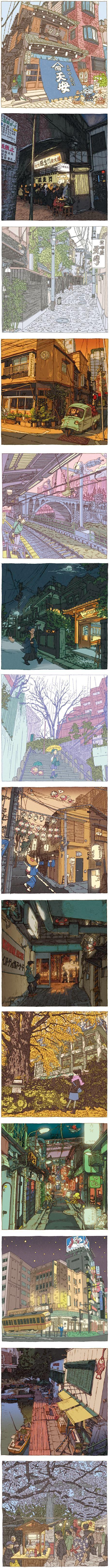 Shinji Tsuchimochi's 100 Views of Tokyo
