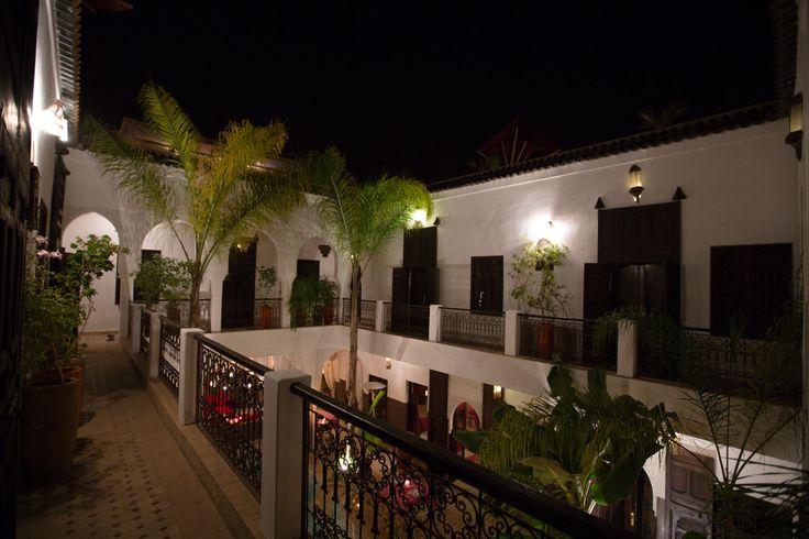 One the first floor of Riad Pachavana