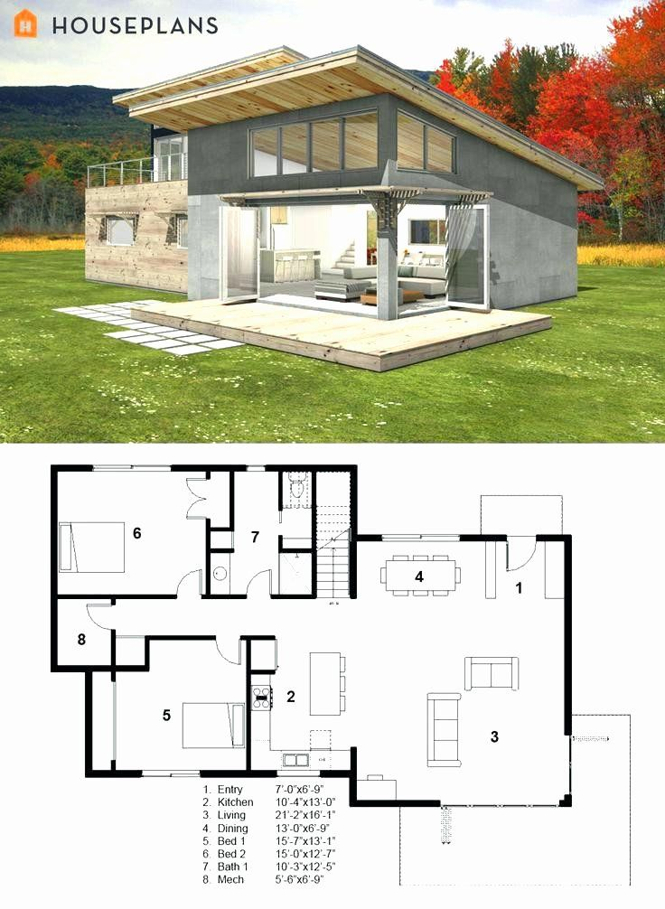 Log Cabin House Plans Free Fresh Small Cottage House Plans Love Shack House Plan Small Modern Style House Plans Unique House Plans Small Modern House Plans