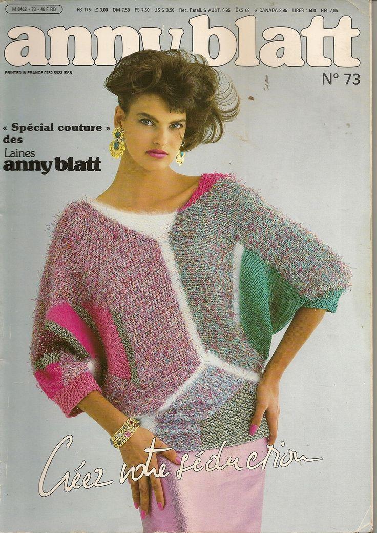 MAGAZINE ANNY BLATT N°73 SPECIAL COUTURE : Autres Tricot et Crochet par…