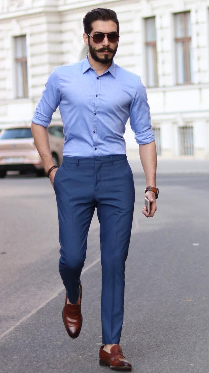5 Best Shirt And Pant Combinations For Men Men Fashion Casual Shirts Formal Men Outfit Mens Casual Outfits Summer [ 1200 x 675 Pixel ]