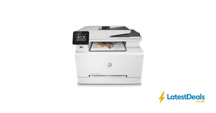 HP Multi-Function Wireless Colour Laser Printer £119.95 after Cashback at Ebuyer