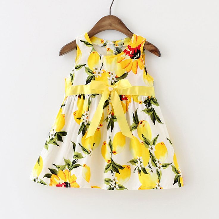 Find More Dresses Information about New Baby Girl Dress Lemon Dress Toddler Girls Summer Baby Clothing Sleeveless Baby Dress Floral Sundress,High Quality dress shirts for toddler boys,China dress up kids clothes Suppliers, Cheap clothes columbia from Fashion Kids Wear on Aliexpress.com