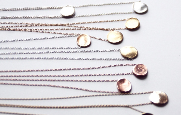 Jook & Nona Fingerprint Jewelry - the perfect wedding gift.
