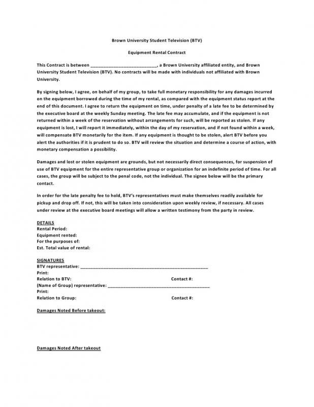 Salon Booth Rental Agreement Rental Agreement Templates
