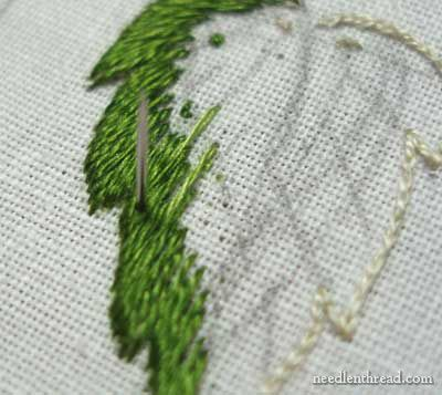 Long and Short Stitch Shading Lessons on needlenthread.com - and lots of other stitching tutorials and videos