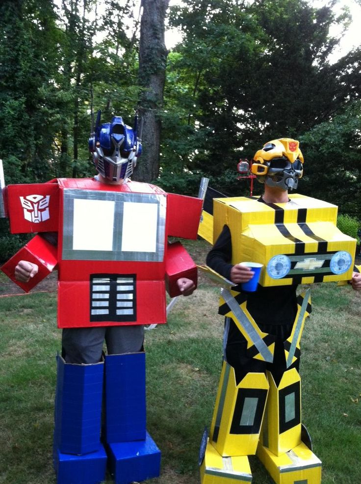 We think Optimus Prime and Bumblebee would approve of these creative Transformers costumes! Just don't be surprised when you have to save the world from Megatron ;)