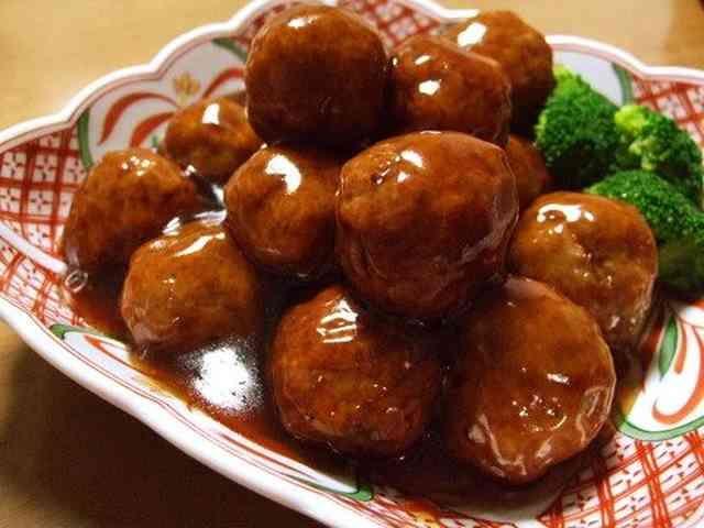 ☆ふんわり肉団子のGOODな甘酢あん☆の画像