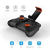 Vatos Wireless Bluetooth Game Controller Gamepad Joypad Joystick for Android Phone,Pad,MID,TV BOX,PC and Smart TV Games with Clip