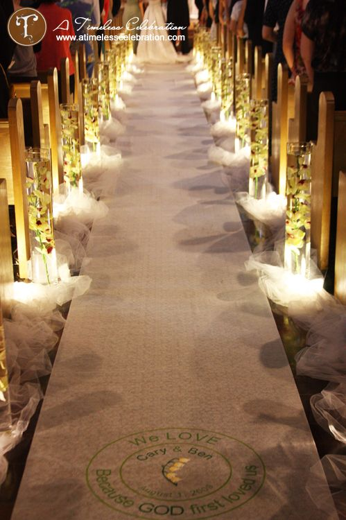 wedding aisle ideas | wedding aisle decoration ideas:Lyle's blog:So-net???