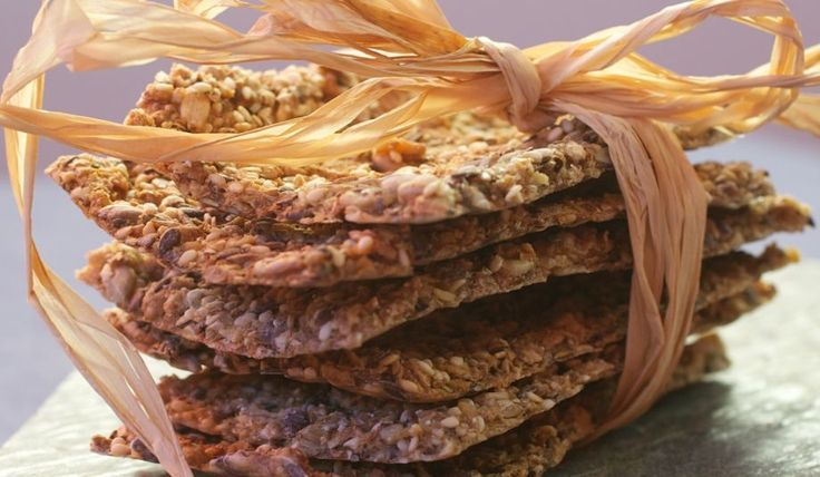 Ekstra grove knekkebrød - oppskrift - Opplysningskontoret for brød og korn