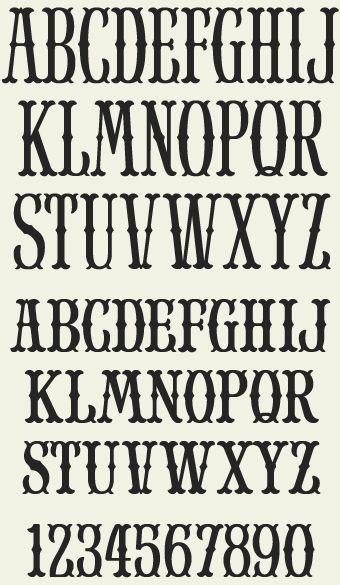 Best  Block Letter Fonts Ideas On   Block Fonts