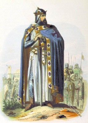 Godfrey of Bouillon. First King of Jerusalem.