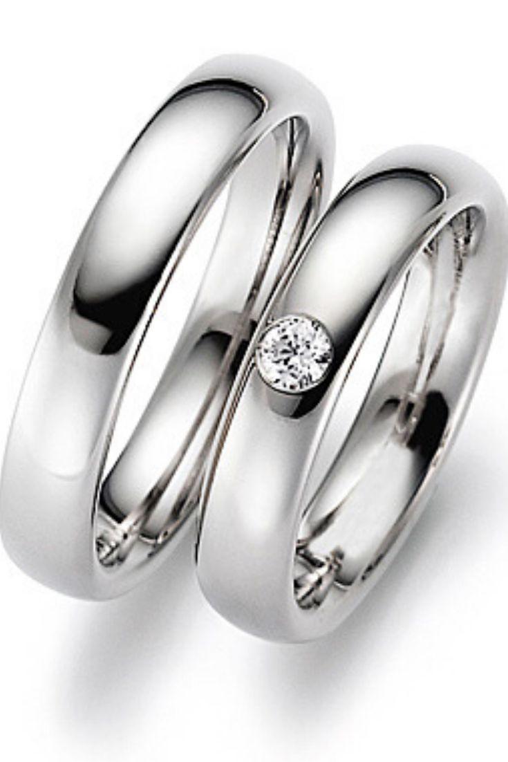 Cubic Zirconia Wedding Band Set For Couple Classic Wedding Etsy In 2020 Classic Wedding Rings Cubic Zirconia Wedding Bands Couple Wedding Rings
