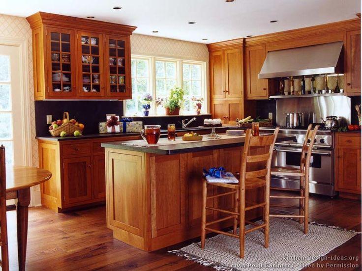 178 best Craftsman Style Kitchens images on Pinterest Dream - small kitchen design ideas photo gallery