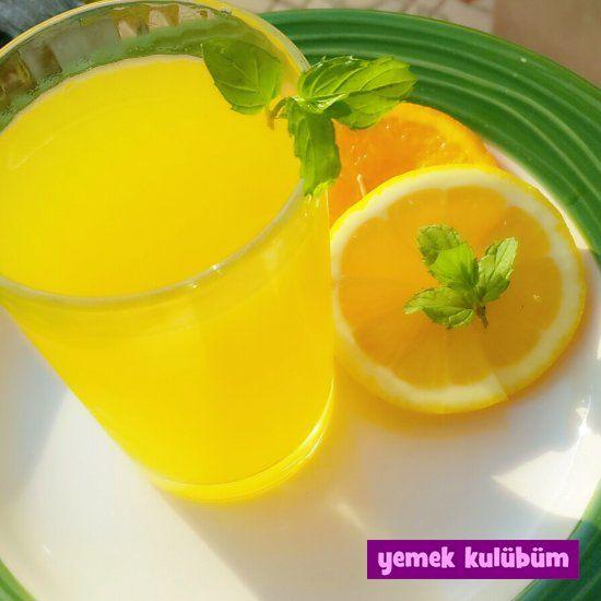 TARİF : 2 Portakal 1 Limon   #portakal #portakalsuyu #limon #limonsuyu #limonata #tazenane #içecek #drink #lemonade #kokteyl #meyvesuyu #juice #coctail