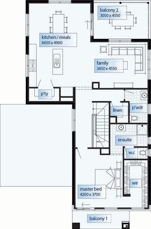 Best 10+ Double storey house plans ideas on Pinterest | Escape the ...
