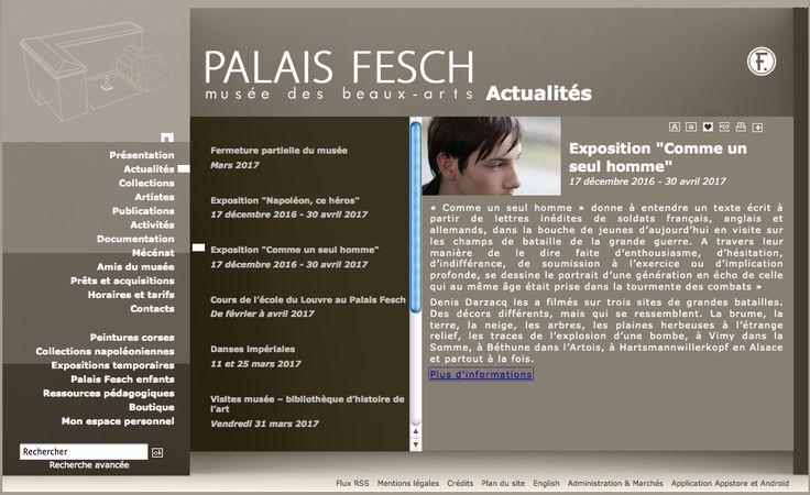 Denis DARZACQ / Musée FESCH / Ajaccio