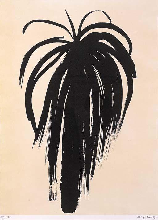 BRETT WHITELEY (1939-1992) PALM TREE 4