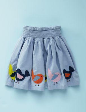 bird skirt