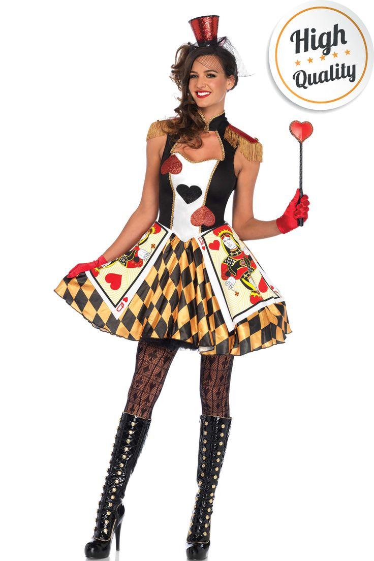 Queens Card Guard kostuum geïnspireerd op Red Queen uit Alice in Wonderland. #carnavalskleding
