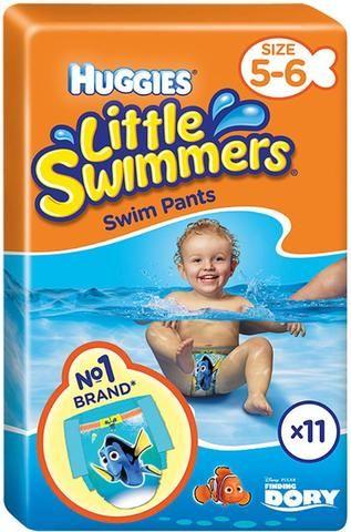 Huggies Little Swimmers Swim Pants Size 5-6 Medium 12-18kg (11)