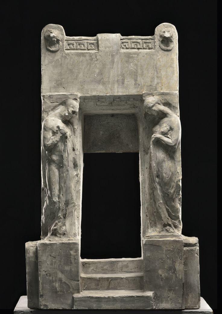 1917.149.01 Riccardo Secchi, Bozzetto Edicola Gallinari