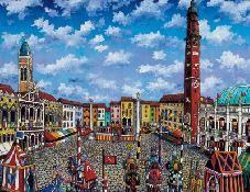 Elio Nava, Vicenza, torneo medioevale in piazza dei Signori