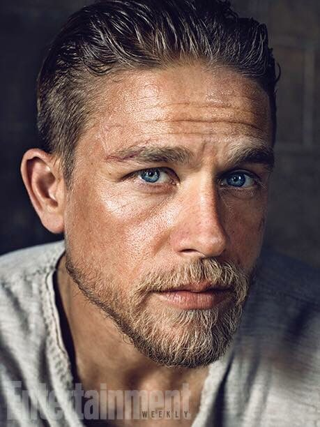 Charlie Hunnam as King Arthur. I just can't ❤️❤️