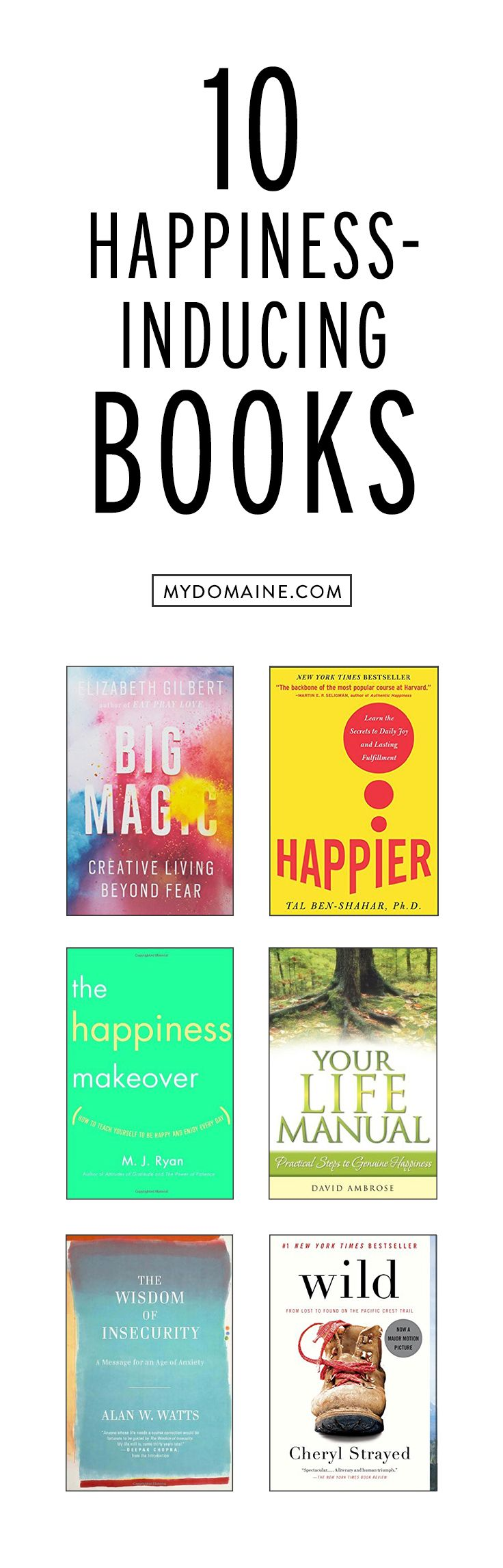 10 Books That Inspire Inner Peace And Happiness