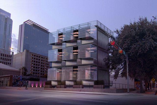 To 'Kasita' είναι ένα διαμέρισμα 20 τετραγωνικών, με πλυντήριο, στεγνωτήριο, κανονική κουζίνα και ένα συρόμενο κρεβάτι. Μπορεί κανείς να το πάρει  με ένα φορτηγό και να το μεταφέρει σε μια άλλη πόλη για να μετακομίσει. Το πρώτο κτίριο που θα έχει τις κατάλληλες υποδοχές για να δέχεται αυτά τα διαμερίσματα θα είναι έτοιμο το 2016 στο Austin του Τέξας...