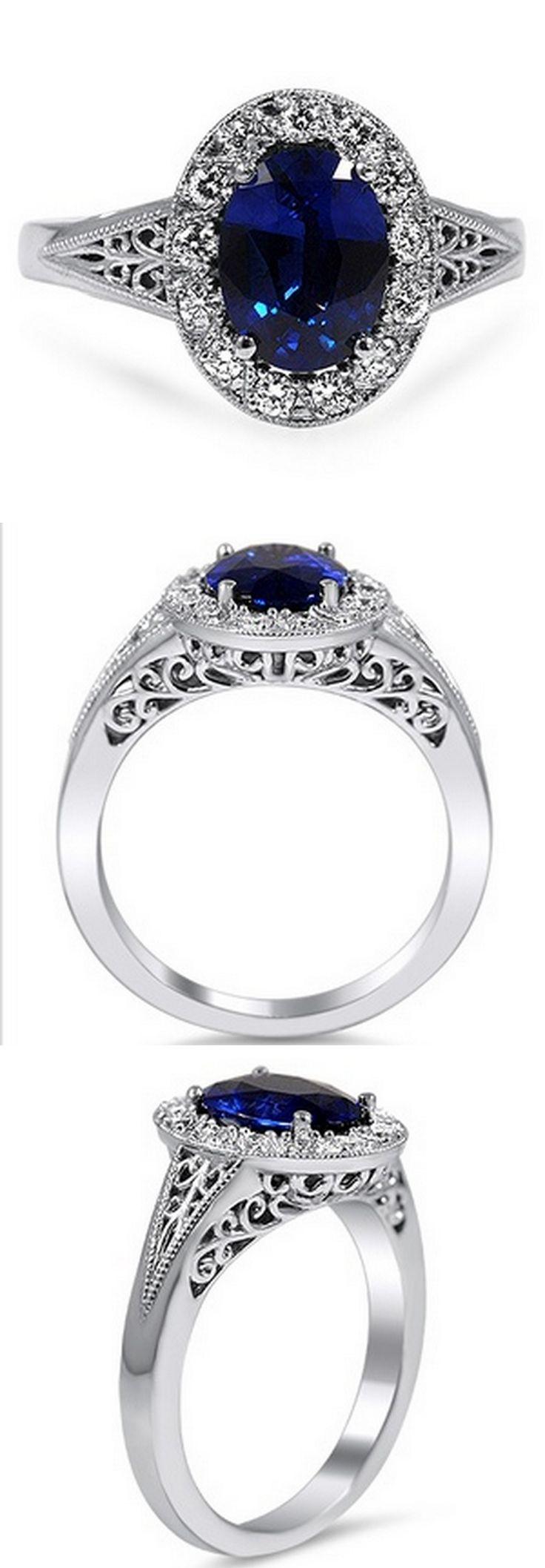 Ornate Filigree Halo Ring