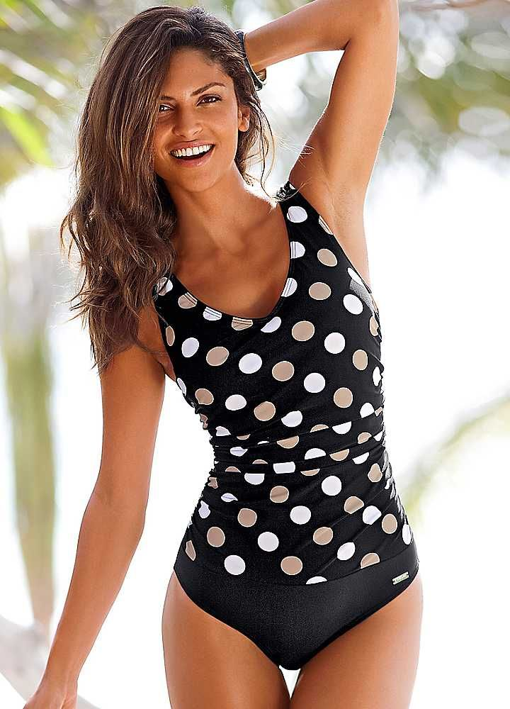 Remarkable, rather Retro polka dot bikini have