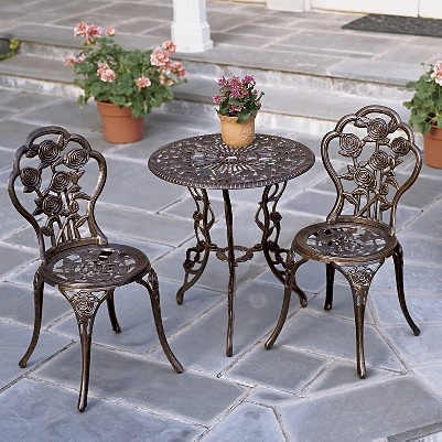 Cast Iron Bistro Set Furniture I Want And Need Bistro