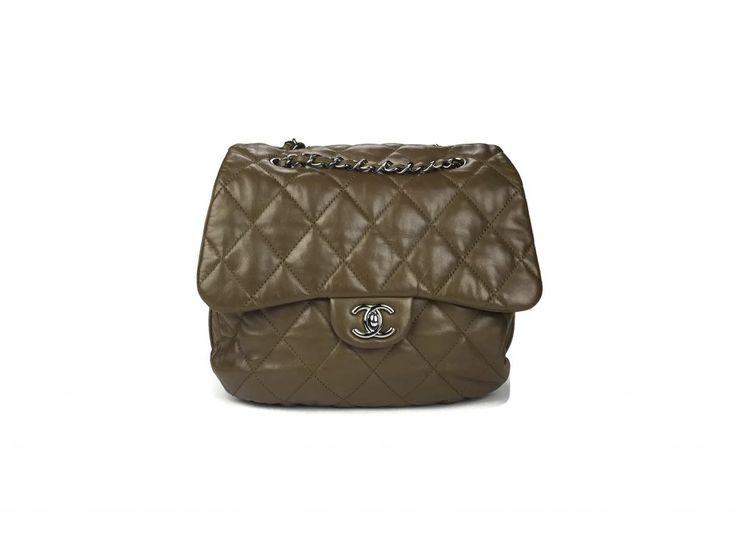 Chanel Lambskin Quilted Accordion Flap Bag