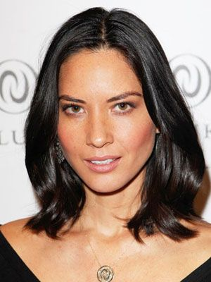 The 7 Best Hairstyles for Oval Faces: Olivia Munn