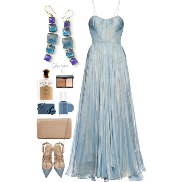 Oscar Night #3 by gemique on Polyvore featuring Maria Lucia Hohan, Valentino, Hobbs, Ippolita, Creed and Essie
