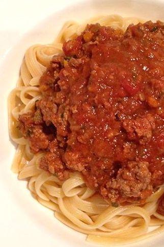 Photo of Chunky Bolognaise Sauce